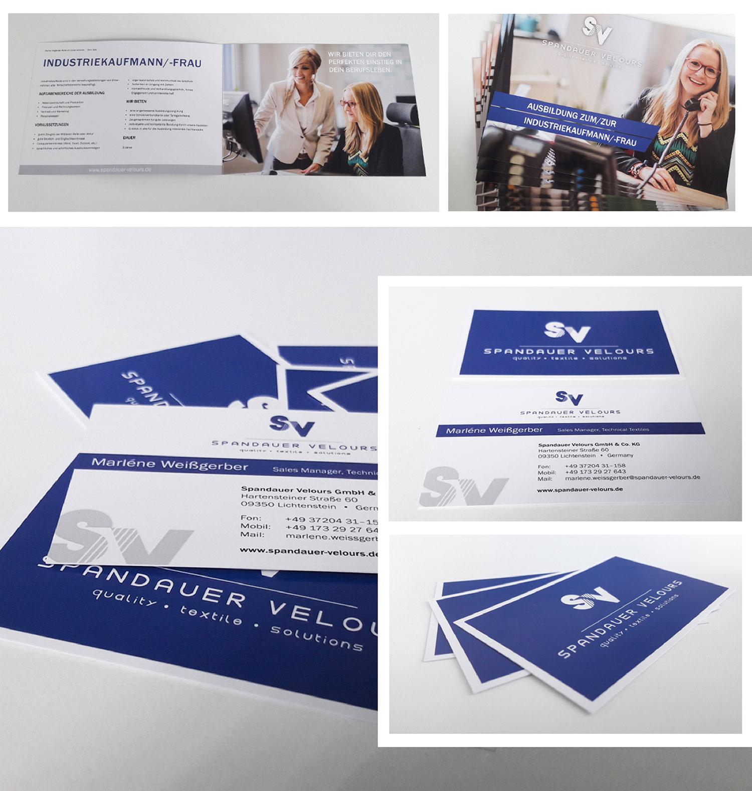 Alrowa Design Druck Co Flyer Und Exklusive Visitenkarten