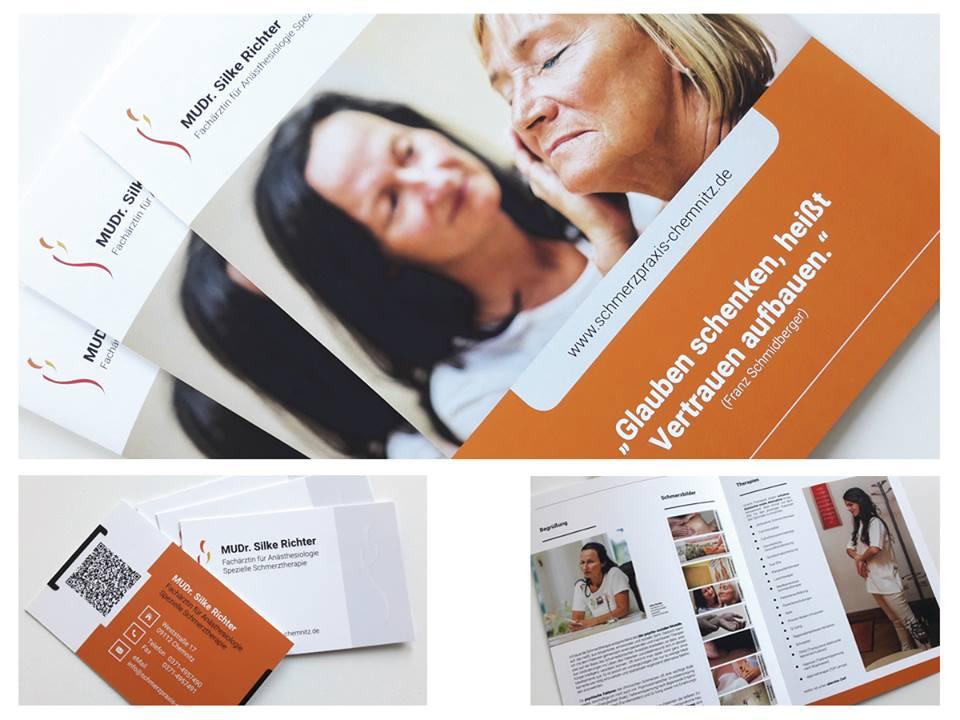 Alrowa Design Druck Co 4 Seitiger Imagefolder Mit