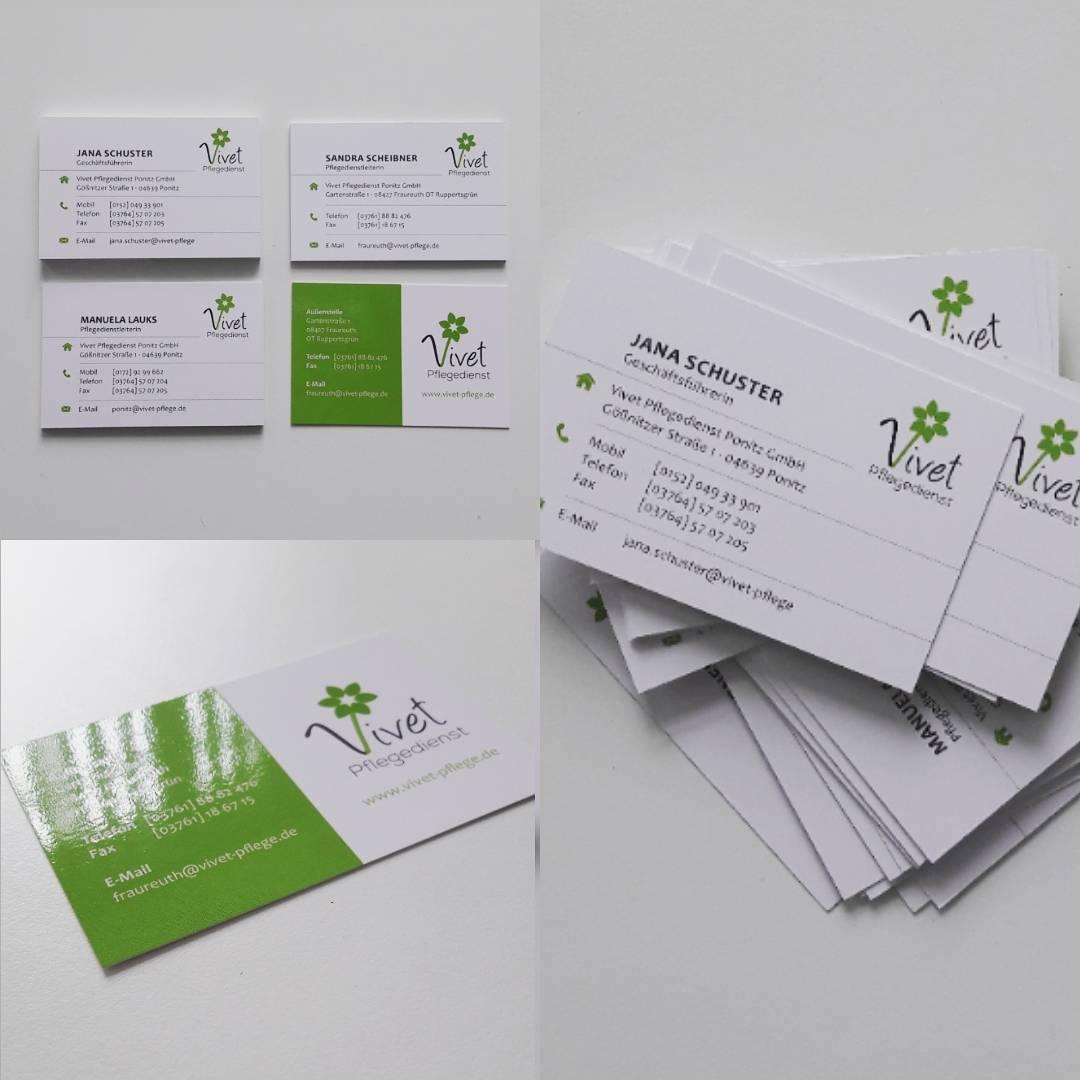 Alrowa Design Druck Co Visitenkarten Mit Partiellem Lack