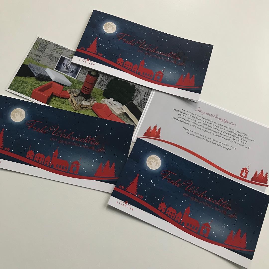 Weihnachtskarten Büro.Alrowa Design Druck Co Weihnachtskarten Für Das Büro Stiegler